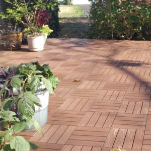 specialty products newtechwood composite deck tile